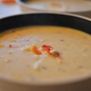 Corn and Crab Bisque