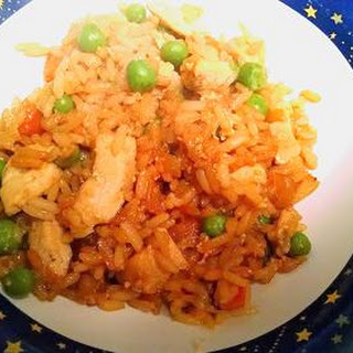 Ellen's Chicken Fried Rice.