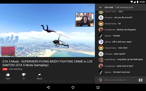YouTube Gaming screenshot 10