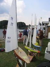 Photo: Op de voorgrond een A-klasse (NED 11)