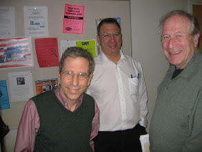 Photo: Professors Eric Maskin, Simon Levin and Louis Narens