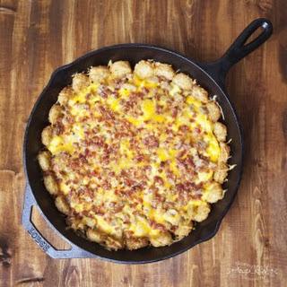 Tater Tot, Bacon & Egg Breakfast Bake.