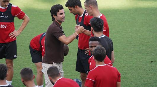 Mario Silva se despide de la plantilla