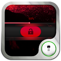 Go Locker Simple Red Slide icon