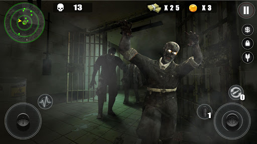 Zombie Hitman-Survive from the death plague 1.1.3 screenshots 2