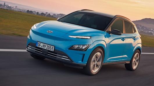 Hyundai Kona Electric se renueva y mejora.