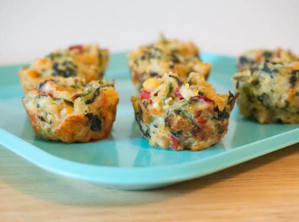 Mini Mediterranean Quinoa & Chickpea Bites Recipe