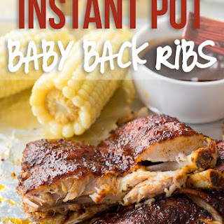Instant Pot Baby Back Pork Ribs.