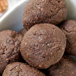 Nutty Chocolate Coconut No-Bake Snack Bites