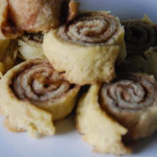 Cinnamon and Sugar Pinwheels.