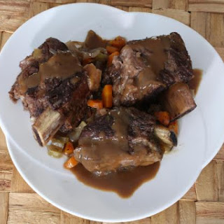 Oven Braised Beef Short Ribs