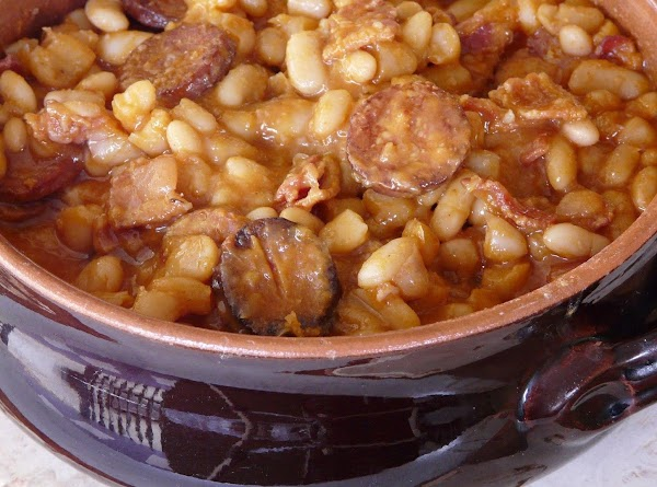 Sausage And Baked Beans For A Crowd Recipe