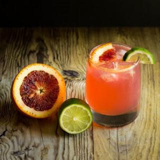 Refreshing Blood Orange Gin and Tonic