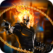 Game Blazing Fire Ghost Skull Rider City Rescue Mission APK for Windows Phone