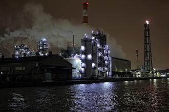 Photo: 塩浜運河から水江運河へ。  京浜コンビナート Keihin industrial complex #technoscape  #industrial  #kawasaki  #pentaxusersjp  #sigma