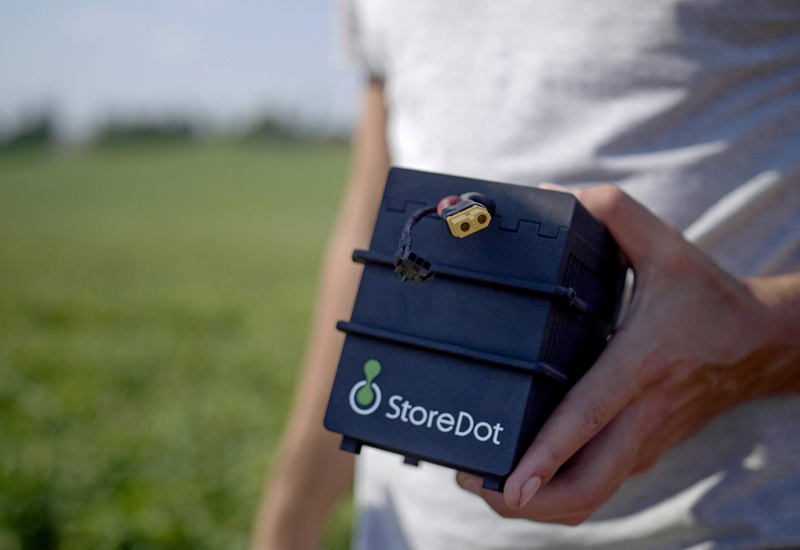 StoreDot fast charging battery