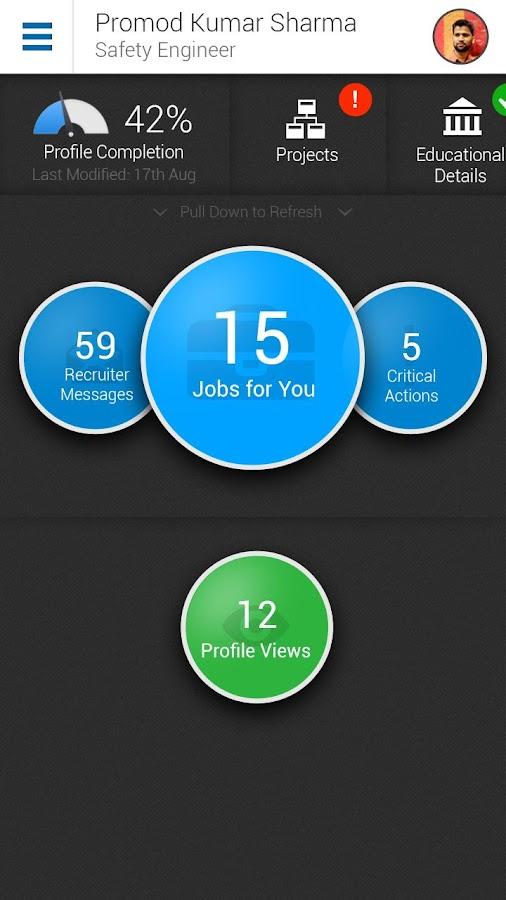 Naukri.com Job Search- screenshot