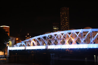 Photo: Year 2 Day 135 -  Anderson Bridge in Singapore (Over the Singapore River)