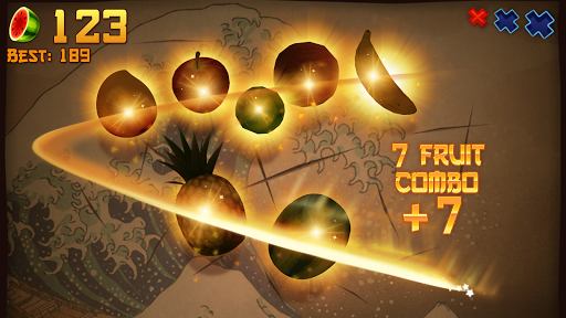 Fruit Ninja Free game (apk) free download for Android/PC/Windows screenshot