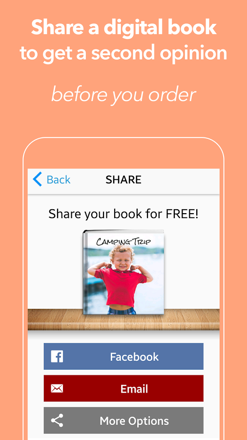 SimplePrints Photo Books- screenshot
