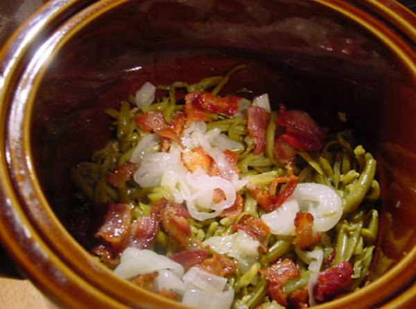 Green Beans Done Differently Recipe