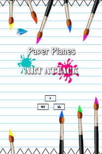 Paper Planes Art Attack - náhled
