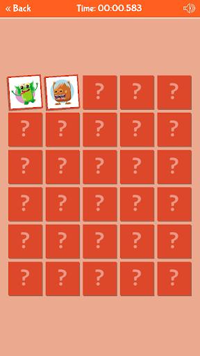 لقطات شاشة لعبة ذاكرة الوحوش اللطيفة 4
