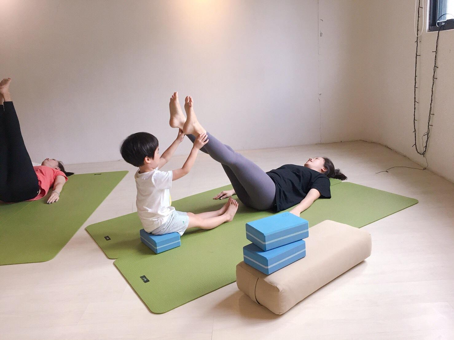 瑜珈 親子瑜珈 瑜珈課程 初學