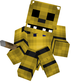 Golden Nova Skin - Freddie skins fur minecraft