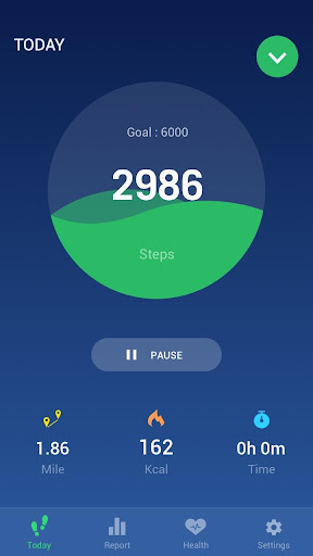 Step Counter - Pedometer Free & Calorie Counter Fitness app screenshot 1 for Android