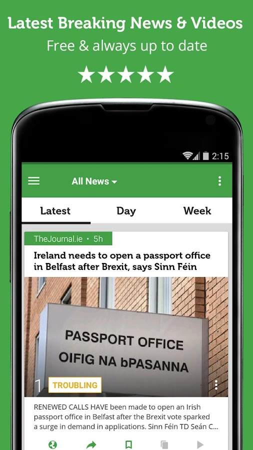 Irish News - Newsfusion- screenshot
