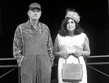 Shepard's flock: Neil McCarthy and Leila Henrique in Curse of the Starving Class by US playwright Sam Shepard. Picture: SUPPLIED