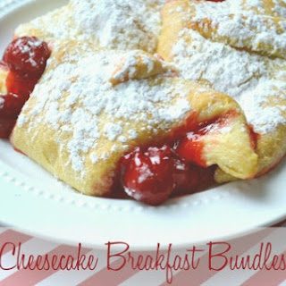 Cherry Cheesecake Breakfast Bundles