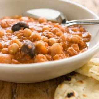 Slow Cooker Chickpea and Lentil Stew.