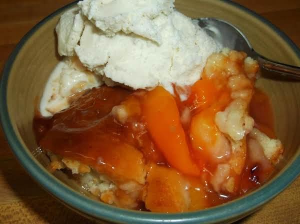 Fresh Peach Cobbler Recipe