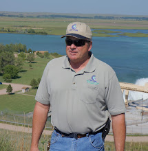Photo: Nate Nielsen, Kingsley Dam Foreman, was our guide at the hydro plant.