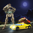 X Ray Robot Transformer Car