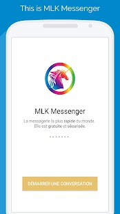 MLK Messenger - náhled