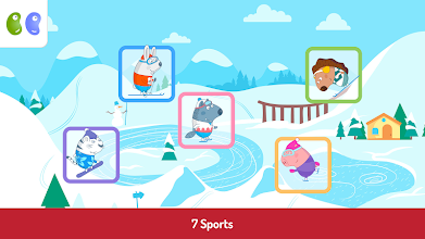 B&B Winter Sports Games screenshot thumbnail