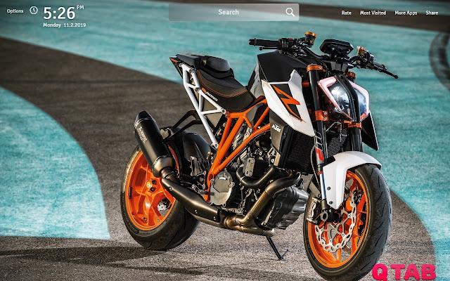 Ktm Duke 390 Wallpapers: KTM Duke 390 Wallpapers KTM Duke 390 New Tab