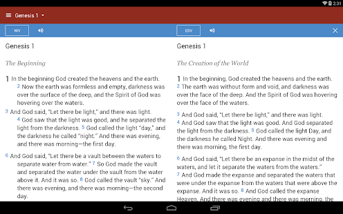 Bible Gateway- screenshot thumbnail