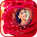 Rose Flower Photo Frames :  Flower Photo Editor HD icon