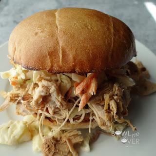 Kauai Pulled Pork Sandwich