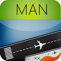 Manchester Airport + Radar MAN icon