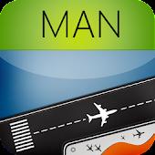 Manchester Airport + Radar MAN