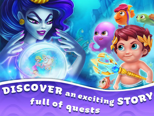 Seascapes : Trito's Match 3 Adventure 2.6 screenshots 18