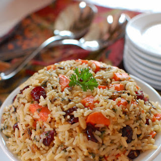 Carrot Walnut Wild Rice