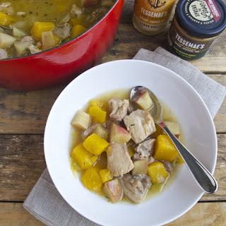Chicken, Butternut Squash and Apple Stew