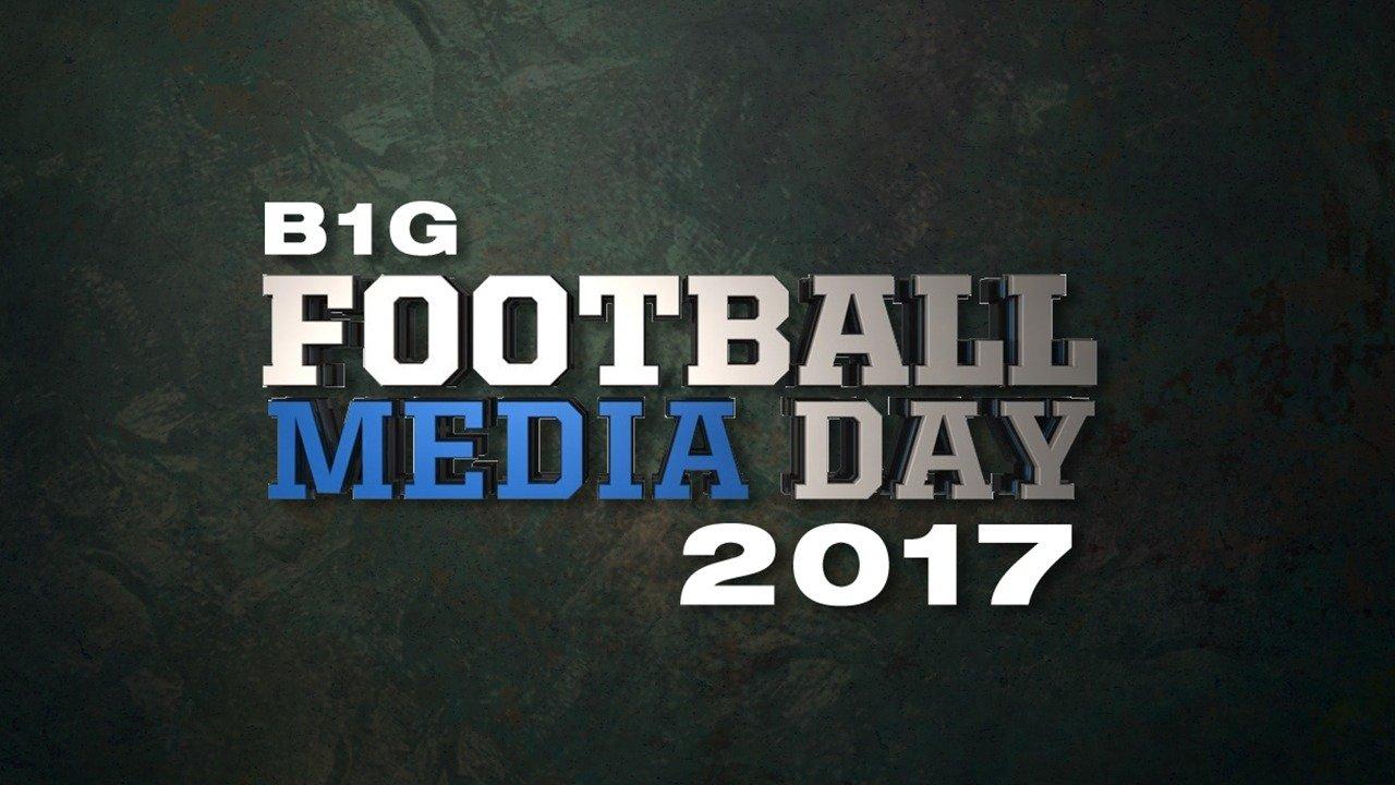 B1G Football Media Day 2017