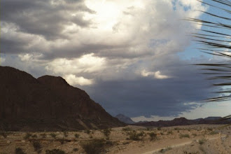 Photo: Summer Monsoons are a welcome sight in the desert.